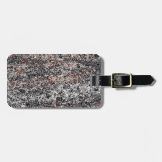 Surface of a gneiss rock luggage tag