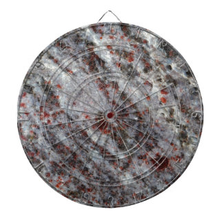 Surface of a gneiss rock with garnets dart boards
