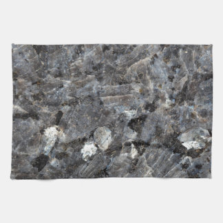 Surface of a Labradorite Rock Kitchen Towel