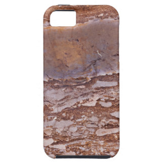 Surface of a red sandstone with siliceous geods case for the iPhone 5