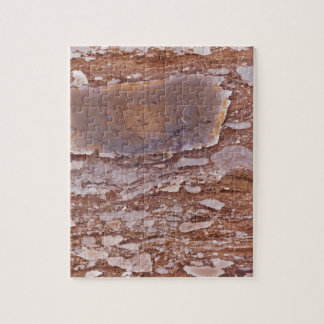 Surface of a red sandstone with siliceous geods jigsaw puzzle