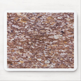 Surface of a red sandstone with siliceous geods mouse pad