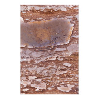 Surface of a red sandstone with siliceous geods stationery