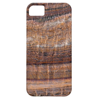 Surface of carbonate rock with weathering traces iPhone 5 cover