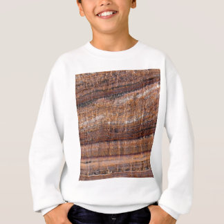 Surface of carbonate rock with weathering traces sweatshirt