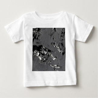Surface of pure silicon crystals baby T-Shirt