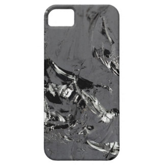 Surface of pure silicon crystals case for the iPhone 5