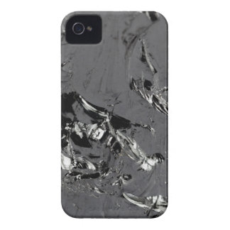 Surface of pure silicon crystals iPhone 4 Case-Mate case