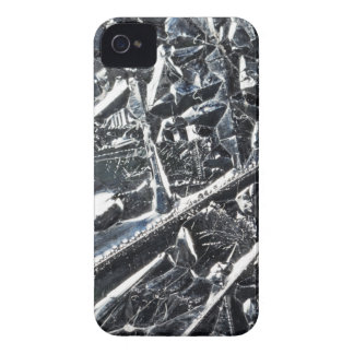 Surface of pure silicon crystals iPhone 4 Case-Mate cases