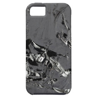 Surface of pure silicon crystals iPhone 5 case