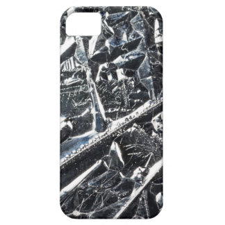 Surface of pure silicon crystals iPhone 5 cover