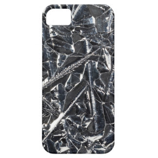 Surface of pure silicon crystals iPhone 5 covers