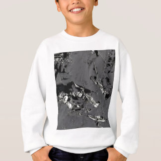 Surface of pure silicon crystals sweatshirt