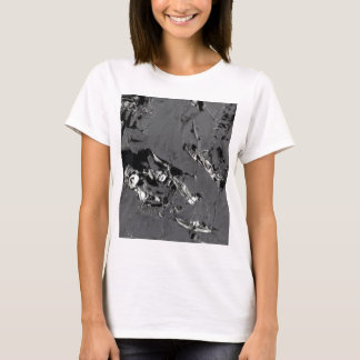 Surface of pure silicon crystals T-Shirt