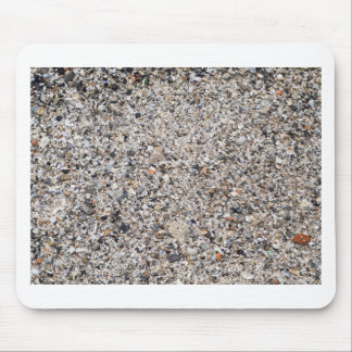 Surface of the beach from the wreckage of shells mouse pad