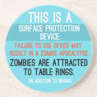 'Surface Protection Device' Coaster
