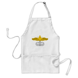Surface Warfare Officer with Basic Jump Wings Standard Apron