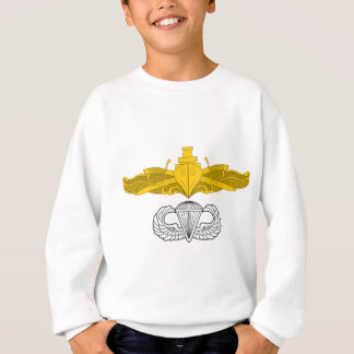 Surface Warfare Officer with Basic Jump Wings Sweatshirt