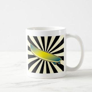 surfboard button coffee mug