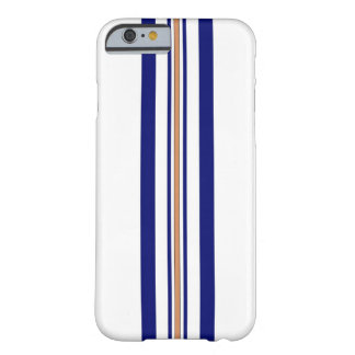 Surfboard iPhone 6 case - Blue Stripes