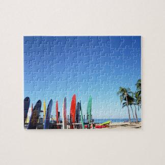 Surfboard Jigsaw Puzzle
