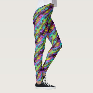Surfboards 2A-2D Image Options Leggings