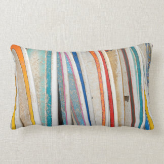 Surfboards Lumbar Pillow
