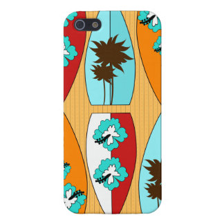 Surfboards on the Boardwalk Summer Beach Theme iPhone 5/5S Case