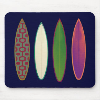 surfboards  ~ surfing style mouse pad