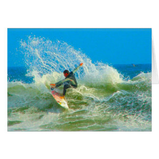 Surfed Out Card