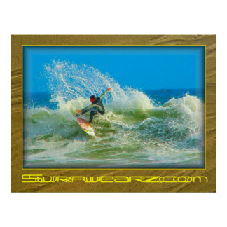 Surfed Out Poster