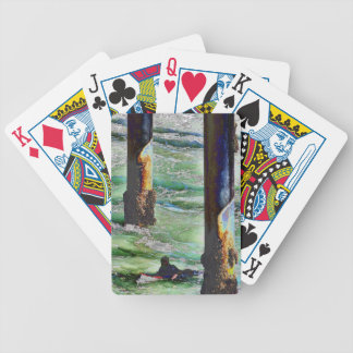 Surfer1 Bicycle Playing Cards