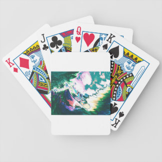 Surfer2 Bicycle Playing Cards