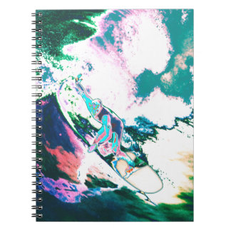 Surfer2 Spiral Notebook