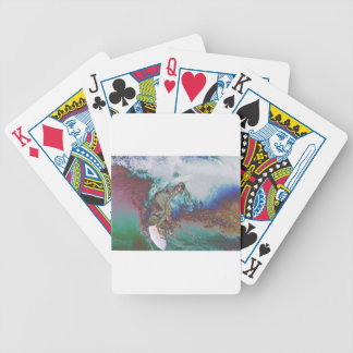 Surfer3 Bicycle Playing Cards