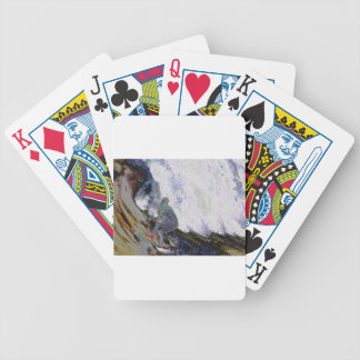 Surfer4 Bicycle Playing Cards