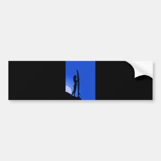 surfer-18661 surfer surf sea wave sport ocean beac bumper sticker