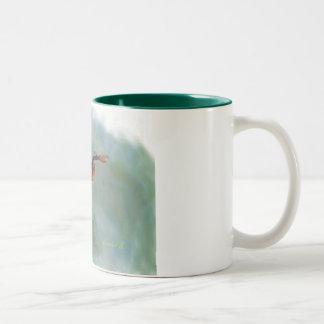 Surfer 1 Two-Tone coffee mug