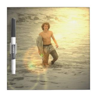 Surfer Boy  Dry Erase Board