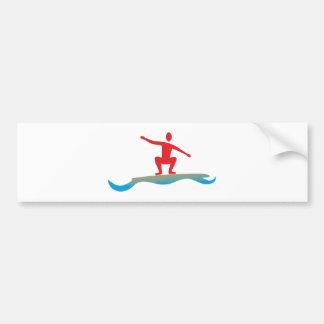 Surfer Bumper Stickers
