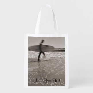Surfer by Shirley Taylor Reusable Grocery Bag