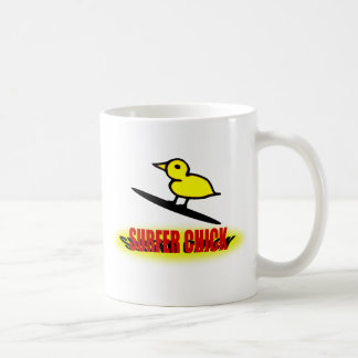Surfer Chick Mug
