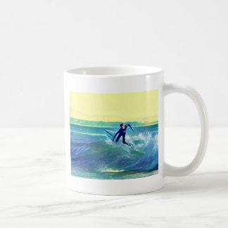 Surfer Coffee Mug
