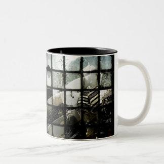 Surfer Coffee Two-Tone Coffee Mug