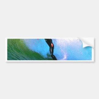 surfer confidence and success bumper sticker
