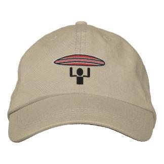 Surfer Crossing adjustable lid Embroidered Hat