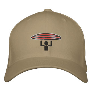 Surfer Crossing lid Embroidered Hats