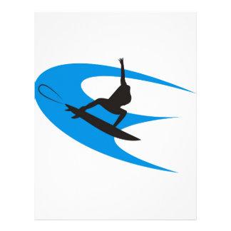 Surfer Design Letterhead Design