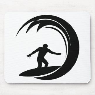 Surfer Design Mouse Pad