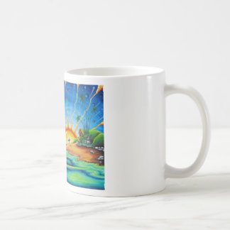 Surfer Design Coffee Mug